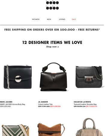 Bags update: Marc Jacobs, Alexander Wang & more.