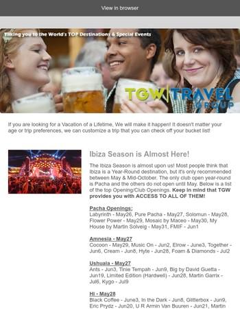 April 2017 TGW Travel Newsletter