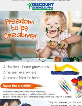 Art is all around us.