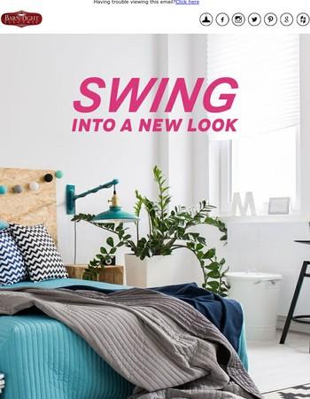NEW! Swing Arm Bedroom Sconces!