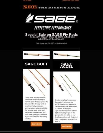 Sage Fly Rod Sale