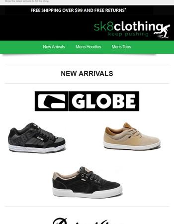 New Arrivals // Globe, Primitive & More