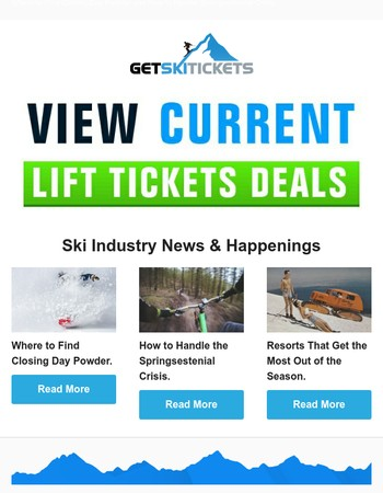 Ski News - Where to Find Closing Day Powder