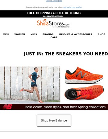 Careful... It's Spring Sneaker Fever