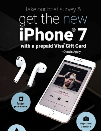 Win a New iPhone 7