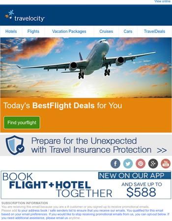 We're pleased to present Newport News flight deals - $588 off when you bundle!