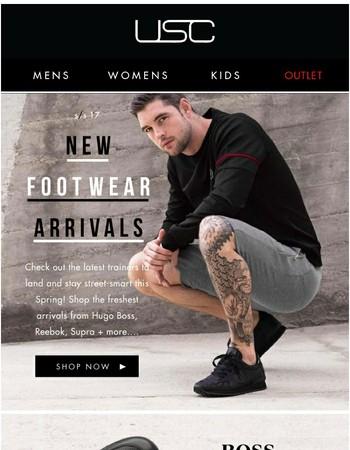 New Season Sunday... Shop the Latest Footwear Arrivals!