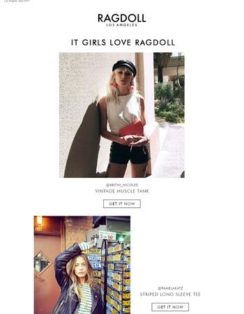 IT GIRLS LOVE RAGDOLL