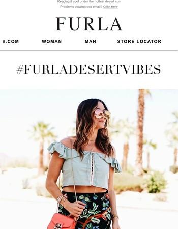 Furla Takes Indio for Festival Season