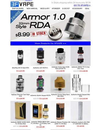 Armor 1.0 Style RDA