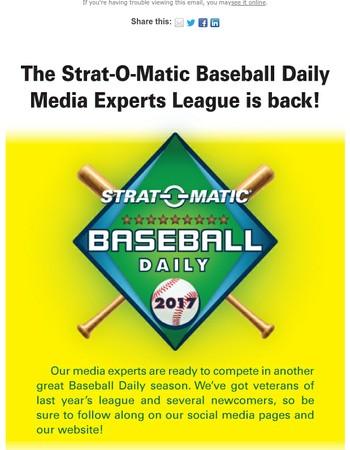 Media Experts Take on Baseball Daily!