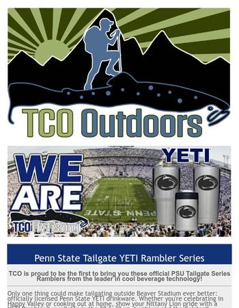 TCO Fly Fishing Presents: YETI PSU Tailgate Ramblers... WE ARE!