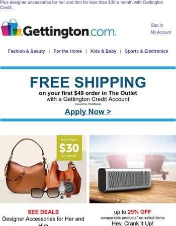 Feel like shopping? Here's FREE SHIPPING!