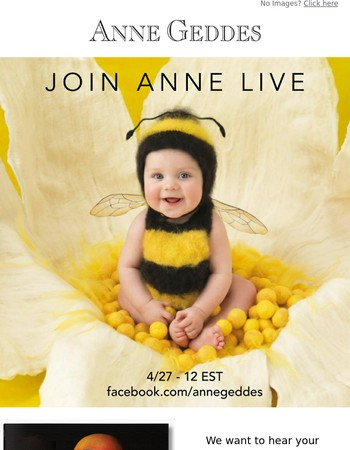 Join Anne Live!