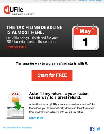 The tax filing deadline is almost here