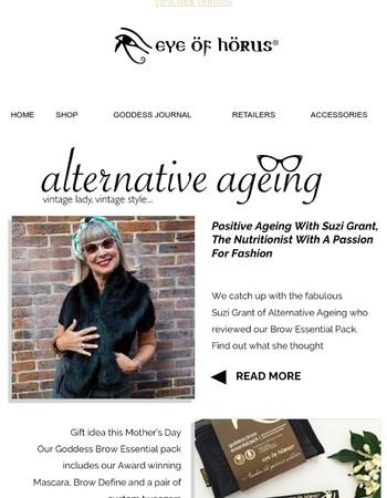 Eye of Horus feature: Alternative Ageing