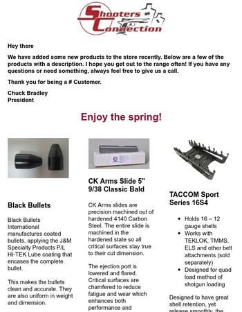 Some New Products for 2017