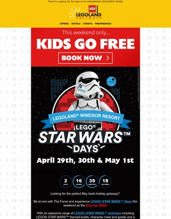 Kids Go FREE this weekend!