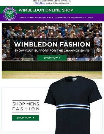 New Season Wimbledon Fashion Available Now