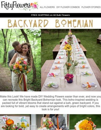 Make This Look - Backyard Bohemian