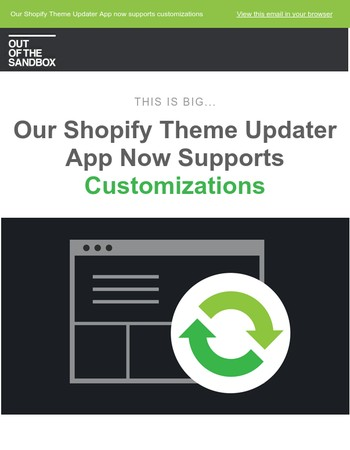 Automatically Update Your Shopify Theme Customizations