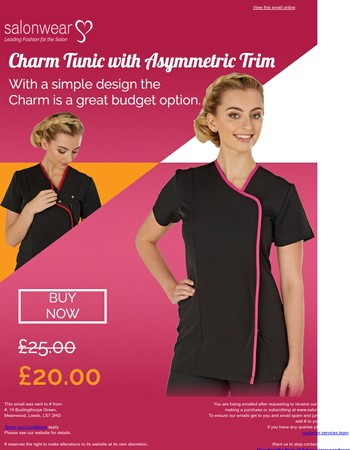 Huge savings with the Charm Tunic