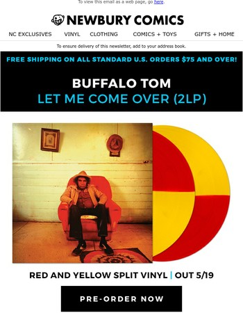 Buffalo Tom Vinyl Exclusive!