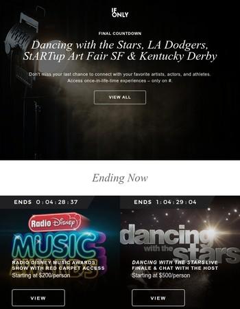 Ending: Award Shows, Set Visits, Kentucky Derby, Jazz Fest & More