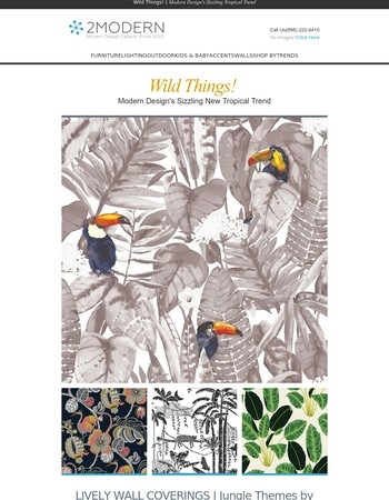 Feel the Heat: Summer's Tropical Trend