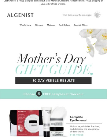 Make Mom's Day + 5 FREE Samples