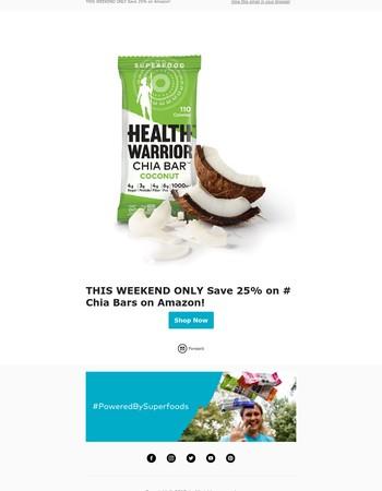 25% Off Sale on Amazon!