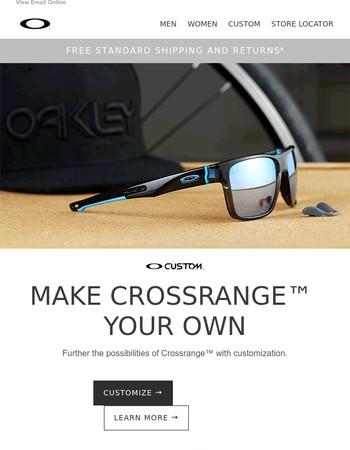 Crossrange™goes Custom -> Create yours