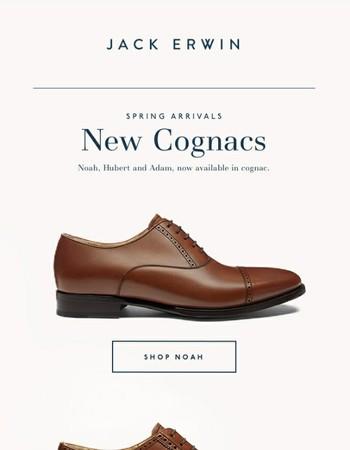 New Arrivals: Cognac Brogues