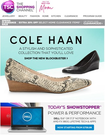 Cole Haan Sleek Effortless Chic