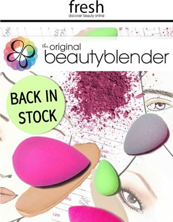 It's Back: The Original BeautyBlender