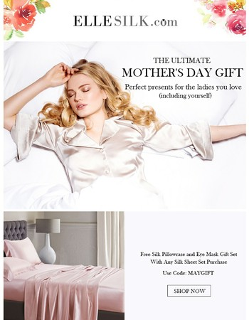 bf92da816c47229038bd1098dc00c3e4, Mother's Day Sale! Get Free Gifts with Your Purchase at ElleSilk.com!