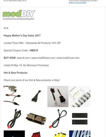 modDIY.com Newsletter (May 2017)
