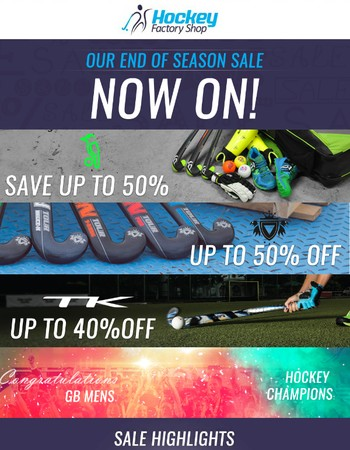 End Of Season Sale | Save Up To 50% Off