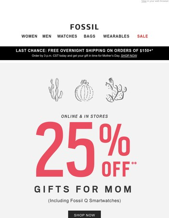 Gifts For Mom, On Sale!