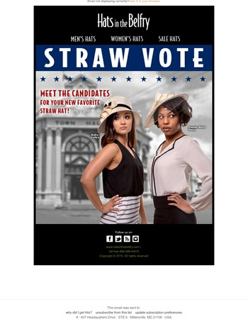 Straw Is The Frontrunner For Spring! - Check Out These Candidates