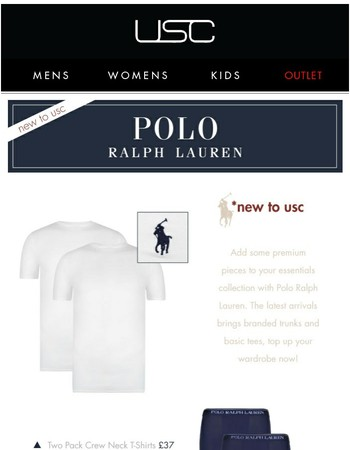 SS17 Arrivals! Polo Ralph Lauren + Glamorous