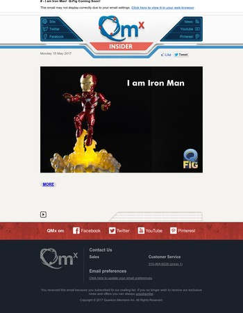 I am Iron Man!  Q-Fig Coming Soon!