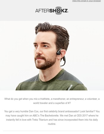 Meet Celebrity Brand Ambassador...