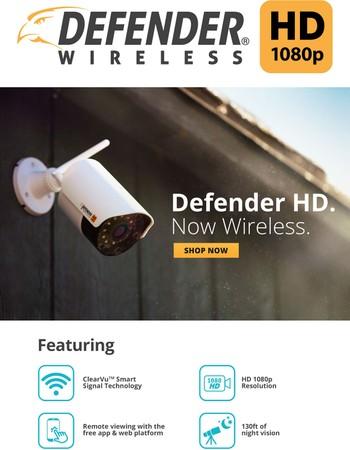 Introducing Defender HD Wireless!