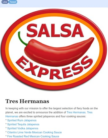 New Tres Hermanas & Maggi at Salsa Express