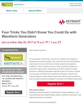 4 Tricks for Waveform Generators
