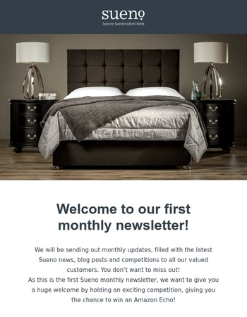Monthly Newsletter & Alexa Competition