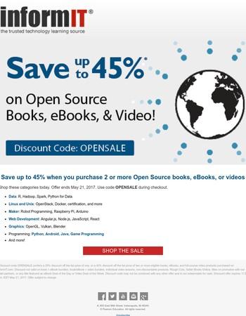 Open Source Sale - Last Chance
