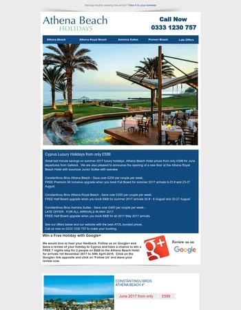 Cyprus last minute luxury holidays from £599