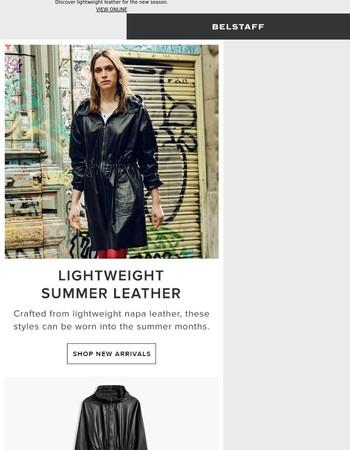 Lightweight Summer Leather